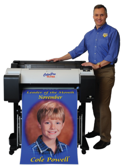 Presentations solutions and their poster printers for school