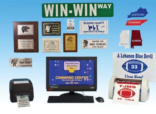the recognizer school signs, plaques, and awards maker