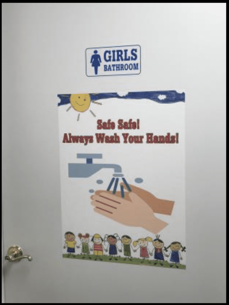 poster maker for schools covid templates hand washing