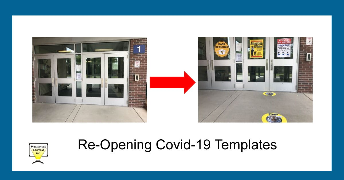 covid templates for schools blog picture