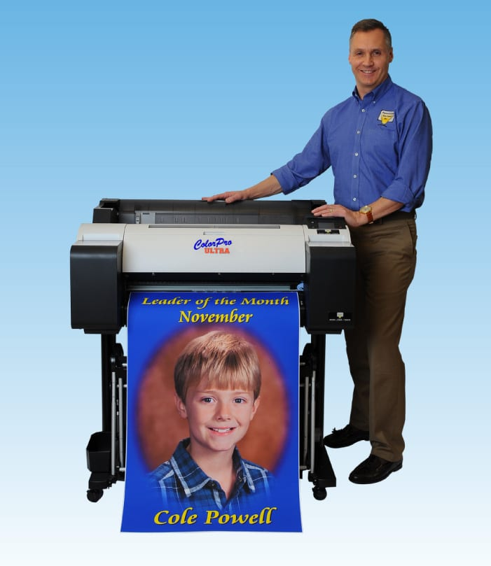 School Poster Makers - from Presentation Solutions – an image of our ColorPro Ultra