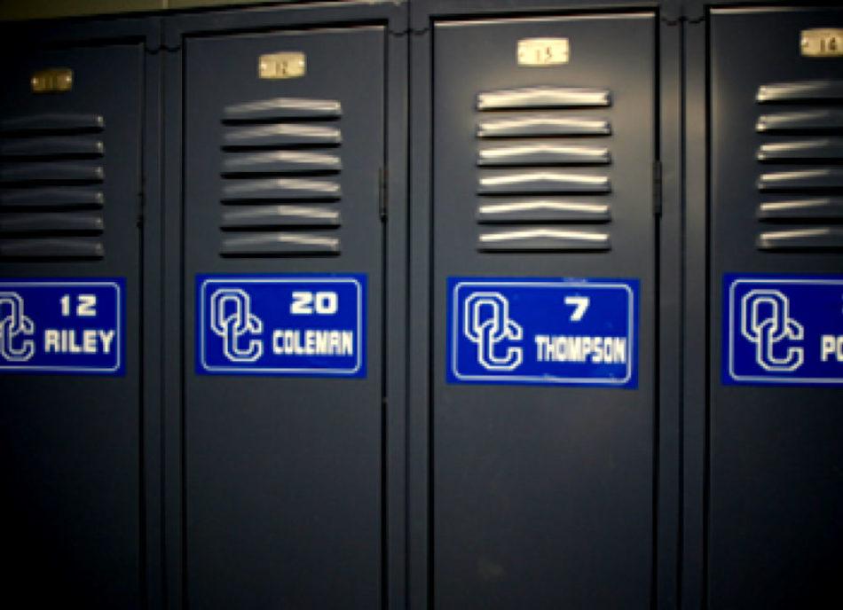 School locker identification tags