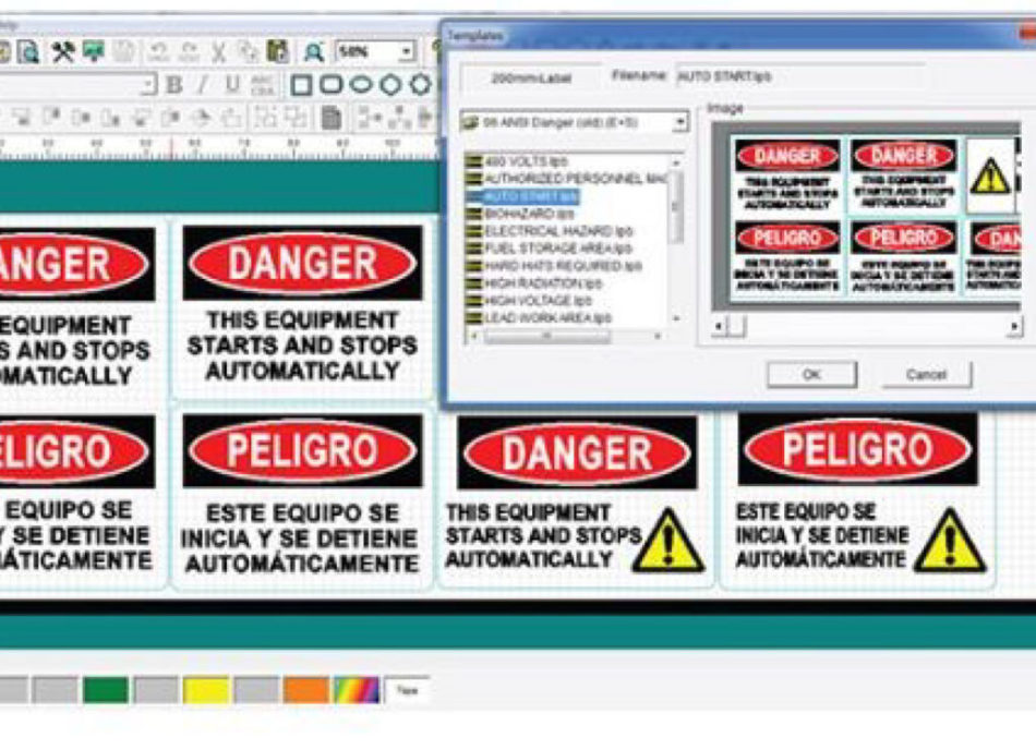 Hazardous material signs for schools safety