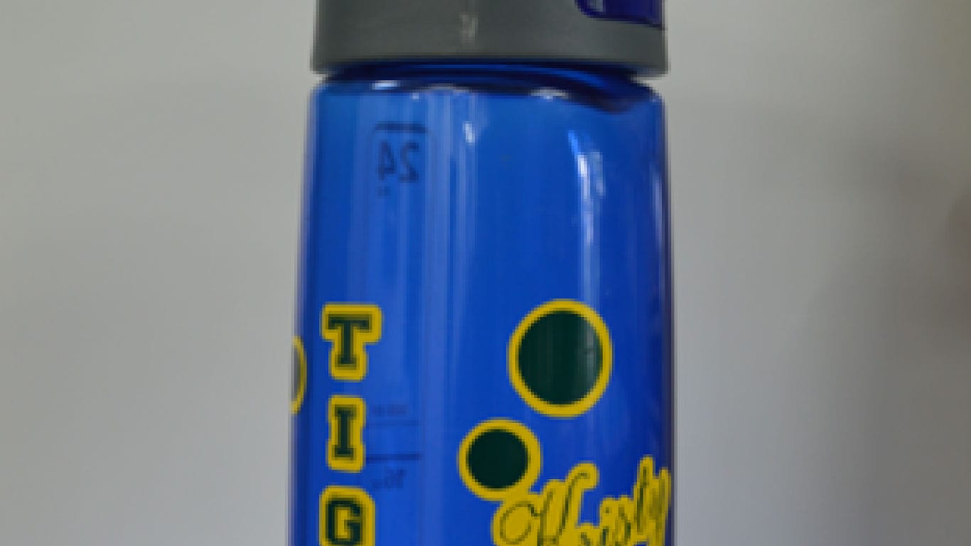 Personalize a water bottle for your students