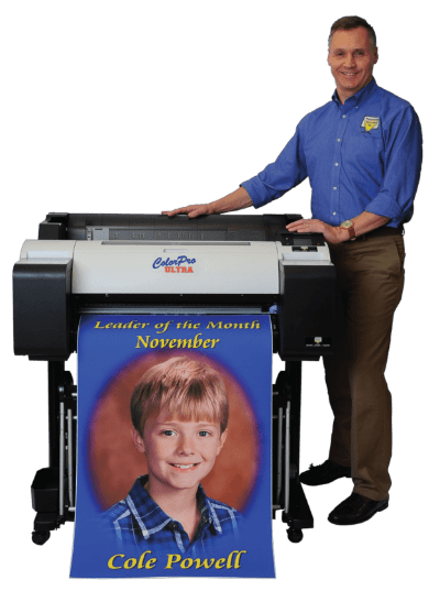 Presentation solution and their poster printers for schools
